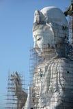 Guanyin är den stora byggnaden i Thailand Fotografering för Bildbyråer
