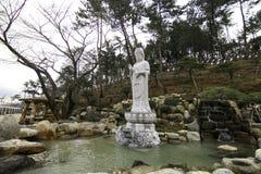 Guanyin в Пусане Корее Стоковое Изображение