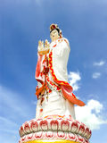 Guanyin biggest statue, chachoengsao in thailand Stock Photos