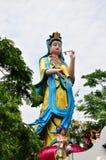 Guanyin bodhisattva Arkivfoton