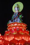 Guanyin Bodhisattva statue Royalty Free Stock Images