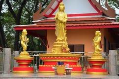Guanyin bodhisattva statue Stock Image