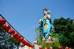 Guanyin bodhisattva statue Royalty Free Stock Image