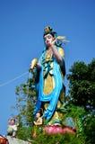 Guanyin bodhisattva statue Royalty Free Stock Photography