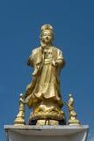 Guanyin bronsskulptur Fotografering för Bildbyråer