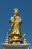 Guanyin bronze sculpture Stock Image