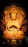 Guanyin Buddha pagoda is a thousand hands Royalty Free Stock Photography