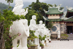 Guanyin buddha temple near Danang City,Vietnam. Royalty Free Stock Images