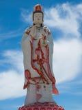 Guanyin Buddha in Wat Saman Rattanaram.clipping path stock images