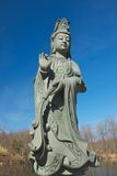 Guanyin in Chuang Yen Monastery Stock Photos