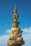 Guanyin d'or Photo stock