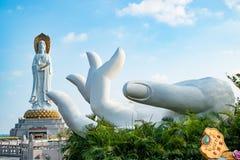 Guanyin de la mer de sud de la Chine photographie stock libre de droits