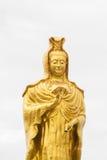 Guanyin dourado Foto de Stock
