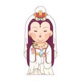 Guanyin-Göttin der Gnade Stockfotos