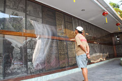 Guanyin-Göttin-Statue Lizenzfreies Stockfoto