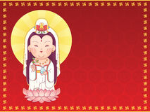 Guanyin Goddess of Mercy Royalty Free Stock Photography