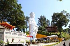 Guanyin gudinnastaty Royaltyfria Bilder