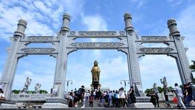 Guanyin herdenkingsoverwelfde galerij Stock Foto's