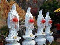 guanyin, le Goddness de la pitié Bouddha Image stock