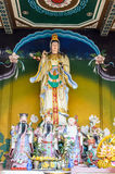 Guanyin. Shrine for the worship of Guanyin Royalty Free Stock Images