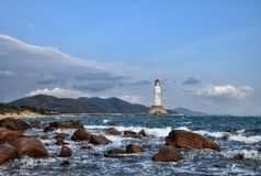 The Guanyin of the South Sea of Sanya Stock Image