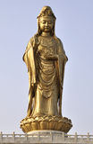 Guanyin statue. One of the principal Bodhisattvas of the Mahayana stock image