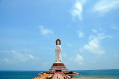 Guanyin statue Royalty Free Stock Photography