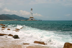 Guanyin statue, Hainan province, China Stock Images