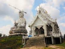 Guanyin-Statue im Bau Stockfotos