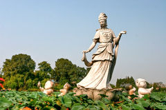 Guanyin Statue Royalty Free Stock Photos