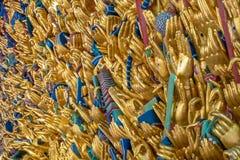 Guanyinbodhisattva för tusen händer arkivfoto