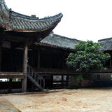 Guanyu saint temple quadrangle Royalty Free Stock Images