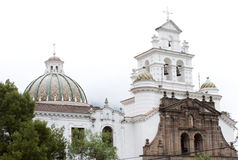 Guapulo church (Quito) Royalty Free Stock Image