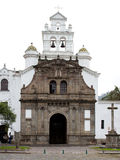Guapulo church (Quito) Royalty Free Stock Photography