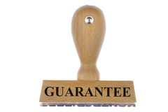 Guarantee. Rubber stamp marked with guarantee Stock Image
