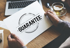 Guarantee Approved Authorized Certified Concept Stock Photos