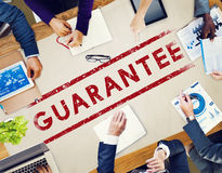 Guarantee Assurance Certified Quality Trustworthy Concept Stock Images
