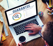 Guarantee Assurance Warranty Standard Concept. Business Guarantee Assurance Warranty Concept Royalty Free Stock Image