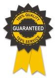 Guarantee badge. Illustration of guarantee badge isolated on white Royalty Free Stock Photos