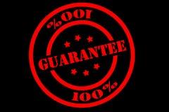 Guarantee Label Royalty Free Stock Photos