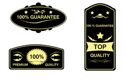 Guarantee Label Royalty Free Stock Images