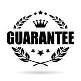Guarantee laurel wreath vector icon. Guarantee laurels wreath vector icon illustration  on white background Royalty Free Stock Photography