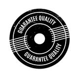 Guarantee Quality rubber stamp Royalty Free Stock Photography