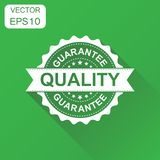Guarantee quality rubber stamp icon. Business concept quality st royalty free illustration