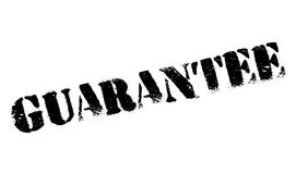Guarantee rubber stamp Stock Images
