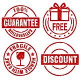 Guarantee rubber stamps II Stock Photos