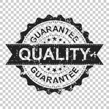 Guarantee scratch grunge rubber stamp. Vector illustration on is vector illustration