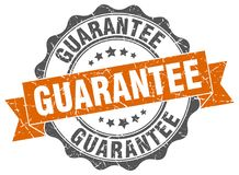 Guarantee seal Stock Image