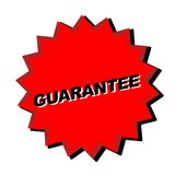 Guarantee sign royalty free stock photos