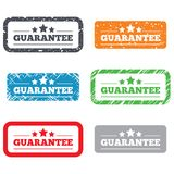 Guarantee sign icon. Certificate symbol Stock Images